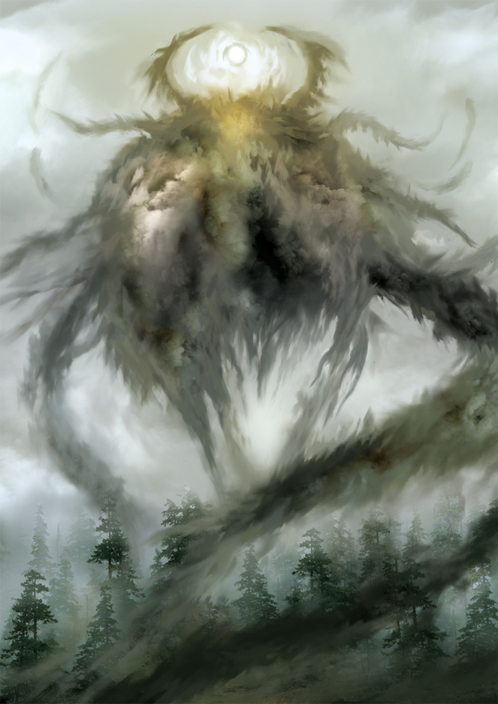 Image of the Delusion beast.